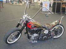Chopper Motorbike Royalty Free Stock Photo