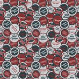Chopper motorcycle label sticker. Graphic art design illustration Royalty Free Stock Photos