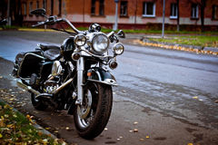 Chopper Road King Royalty Free Stock Photography
