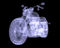 Chopper. The X-ray render Royalty Free Stock Image