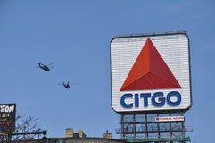 Choppers and Citgo Royalty Free Stock Images