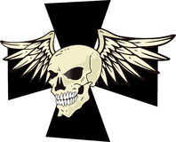 CHOPPERS WINGED SKULL Stock Images