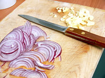 Chopping block Stock Photography