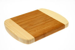 Chopping board. Isolated over white background Royalty Free Stock Photos