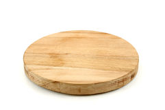Chopping board. Empty chopping board on white background Stock Image