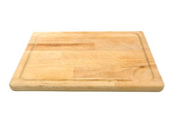 Chopping board. On white background Stock Image