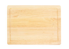 Chopping board isolated Stock Photography