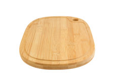 Chopping board isolated Stock Images