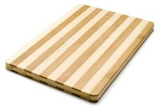 Chopping board isolated on a white background Stock Photography