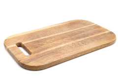 Chopping board isolated on white Stock Photo
