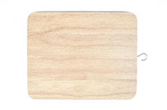 Chopping board isolated white background Stock Photo