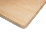 Chopping board, isolated on white backgrounds Royalty Free Stock Photography