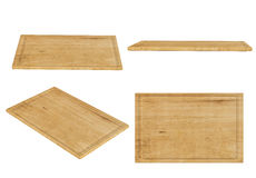 Chopping board isolated on white Stock Image