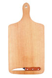 Chopping board with a knife Royalty Free Stock Photography