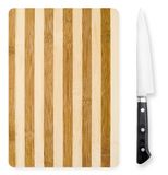 Chopping board and knife. Royalty Free Stock Photography