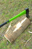Chopping wood Royalty Free Stock Images