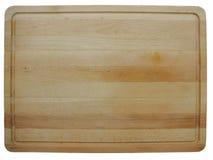 Choppingboard de la madera Imagen de archivo libre de regalías