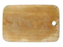 Choppingboard de la madera Foto de archivo libre de regalías