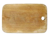 Choppingboard of wood Royalty Free Stock Photo
