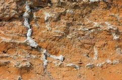 Choppy dirt ground. Greece, Halkidiki Royalty Free Stock Photo