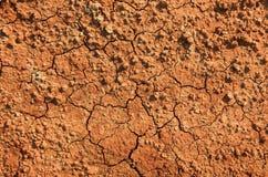 Choppy ground. Orange color choppy ground, Greece Royalty Free Stock Image
