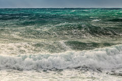 Choppy sea Royalty Free Stock Photography