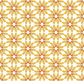 Choppy sunny textile pattern Royalty Free Stock Image