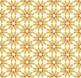 Choppy sunny textile pattern Royalty Free Stock Image
