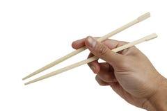 chopstick εκμετάλλευση στοκ φωτογραφία με δικαίωμα ελεύθερης χρήσης