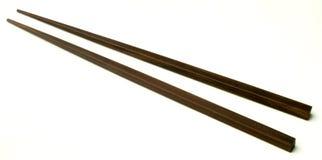 Chopstick. A pair of wooden chopstick Stock Photos