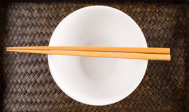 Chopstick and Bowl II Stock Photography