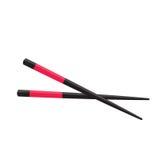 Chopstick Japanese Icon  on White. Vector Illustration. EPS10 Stock Image