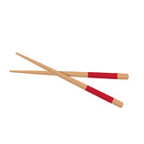 Chopstick Japanese Icon  on White. Vector Illustration Stock Photography