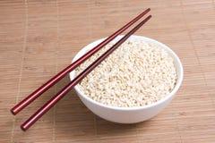 Chopstick na bacia Imagem de Stock