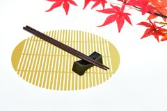 chopsticks ανασκόπησης απομόνωσαν & Στοκ εικόνες με δικαίωμα ελεύθερης χρήσης