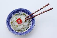 chopsticks ζωμού noodles ρύζι Στοκ φωτογραφίες με δικαίωμα ελεύθερης χρήσης