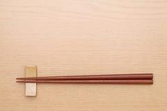 Chopsticks και chopsticks υπόλοιπο Στοκ Εικόνα