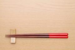 Chopsticks και chopsticks υπόλοιπο Στοκ Φωτογραφία