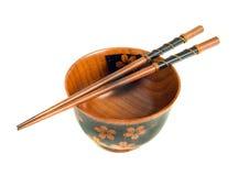 chopsticks κύπελλων ιαπωνικό επιτ&rh Στοκ φωτογραφία με δικαίωμα ελεύθερης χρήσης