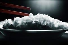 chopsticks ρύζι Στοκ Εικόνες