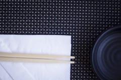 Chopsticks στο ιαπωνικό εστιατόριο Στοκ Εικόνα