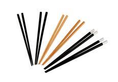 Chopsticks. Sushi chopsticks isolated on white Stock Photos