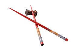 Chopsticks - asian still life Royalty Free Stock Image