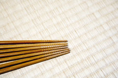 Chopsticks with copy space Royalty Free Stock Photography