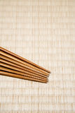 Chopsticks with copy space Royalty Free Stock Images