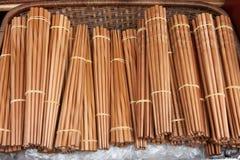 Chopsticks de bambu Imagem de Stock Royalty Free
