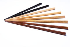 Chopsticks de madeira fotografia de stock