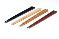 Chopsticks de madeira fotos de stock royalty free