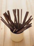 Chopsticks de madeira Imagem de Stock Royalty Free