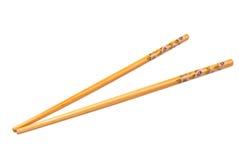 Chopsticks de madeira chineses Foto de Stock